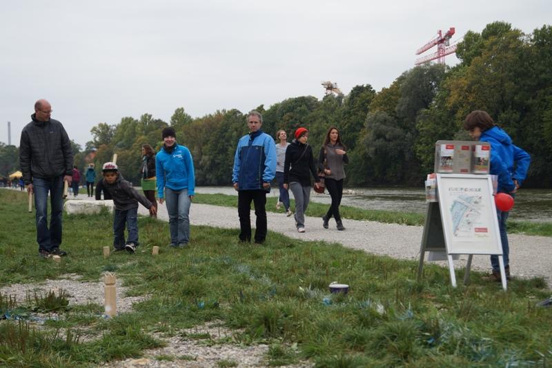 Isarspielmeile 2013: Wikingerschach