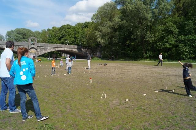 Isarspielmeile 2014: Wikingerschach