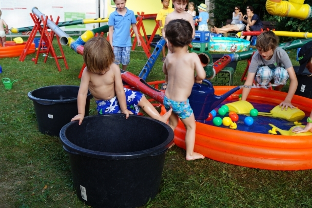 KiKS Festival 2013: Wasserbaustelle (Spiellandschaft Stadt)