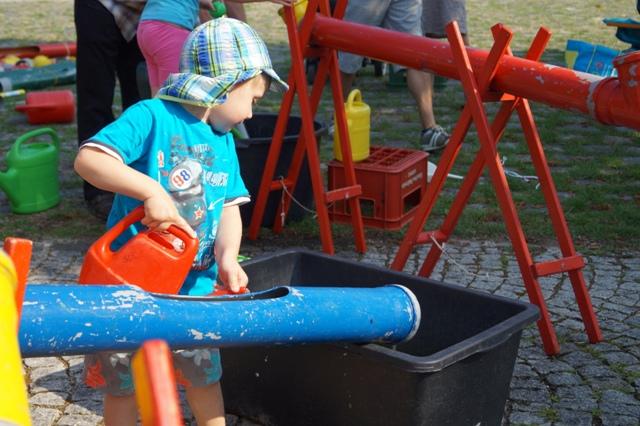 Kinderfest des BA 9 2013 am Rosa-Luxemburg-Platz