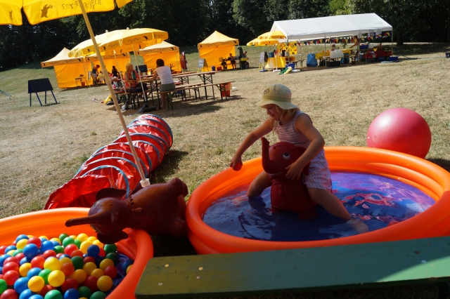 Zirkus Nordini 2013: Elterngarten & Kleinkindbereich