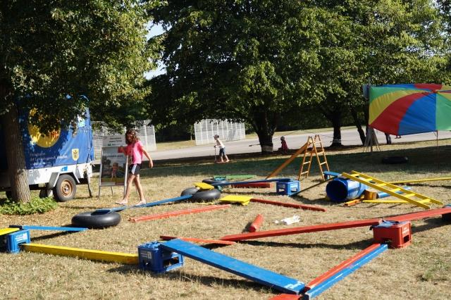 Zirkus Nordini 2013: Bewegungsspiele