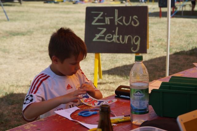 Zirkus Nordini 2013: Zirkus-Zeitung