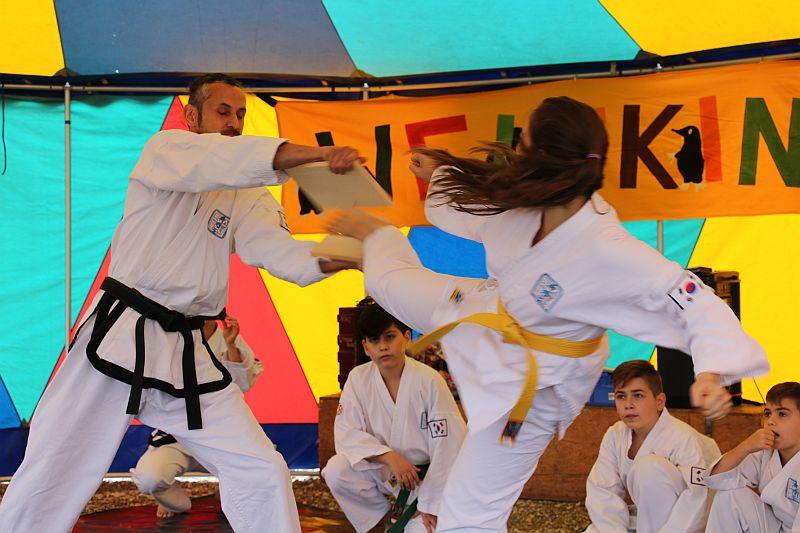 Weltkindertag2016_Buehne_Taekwondo_02