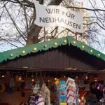 Wir für Neuhausen: Aktionssatnd am Neuhauser Weihnachtsmarkt