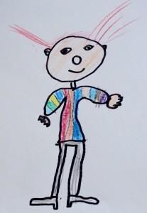 Jonah, 7, Clown