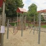 Spielplatz Klausener Platz Gerüst
