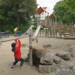 Spielplatz Klausener Platz Wasserpumpe