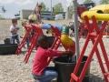 Wasserbaustelle der Spiellandschaft Stadt