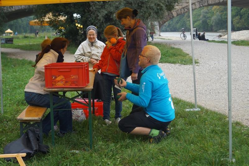 Isarspielmeile 2013: Jonglierstation
