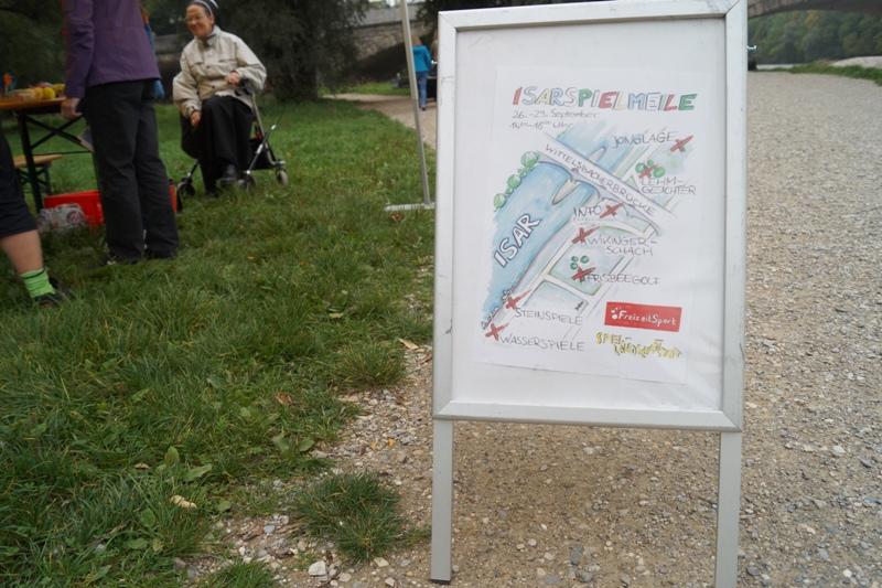 Isarspielmeile 2013: Plakat