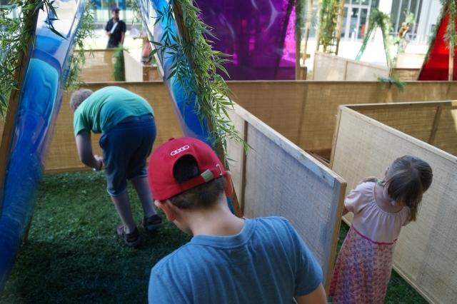KiKS Festival 2013: Labyrinth (Spiellandschaft Stadt)