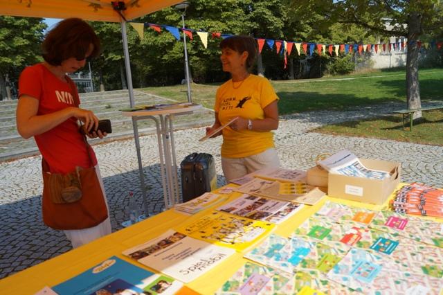 Kinderfest des BA 9 2013 am Rosa-Luyemburg-Platz