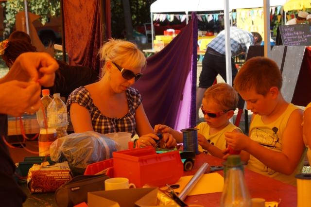 Zirkus Nordini 2013: Zirkus-Werkstatt
