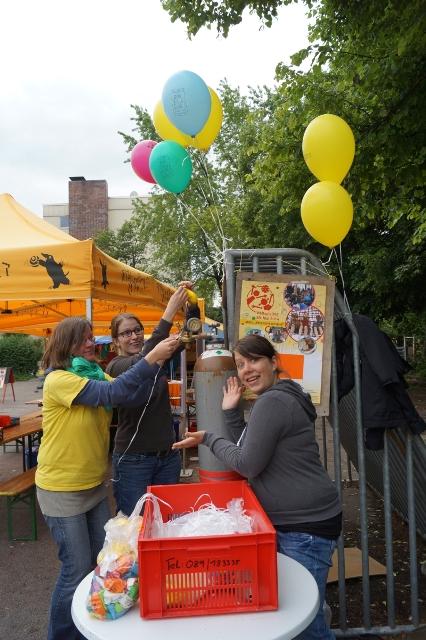 Weltspieltag 2014: Luftballonstand